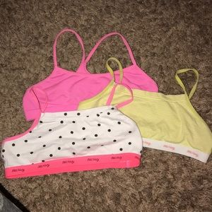 Other - Girls bundle of sports bras.